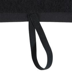 Sporthandoek fitness klein, zwart