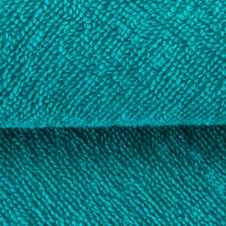 Serviette grande entraînement coton bleu