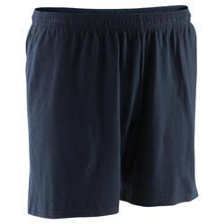 Short 100 mi-cuisse regular Gym Stretching noir homme