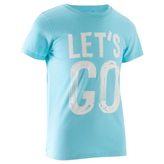 T-shirt met korte mouwen en print gym jongens - 1066986