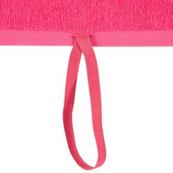 Serviette grande fitness coton rose