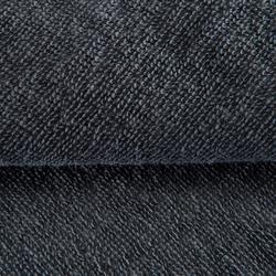 Fitness-Handtuch groß Baumwolle grau