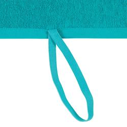 Handtuch groß Fitness Baumwolle blau