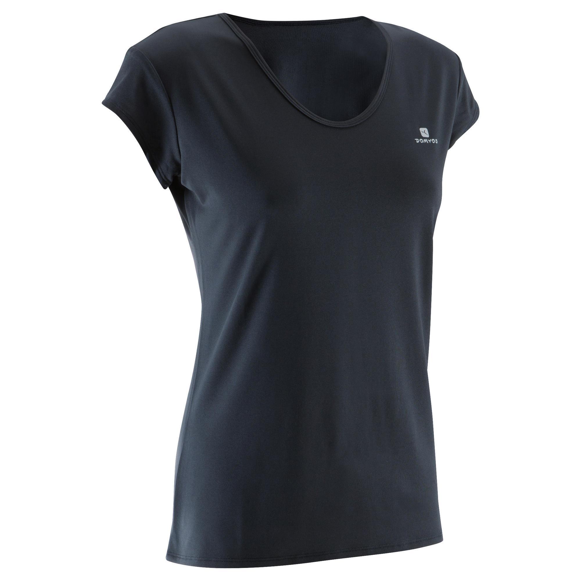 Domyos Fitness shirt 100 voor dames