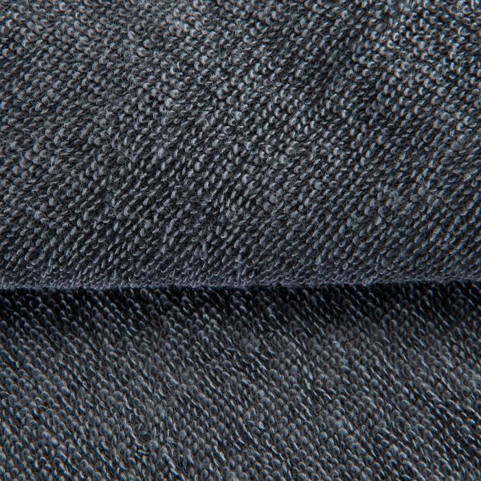 Serviette petite fitness coton gris