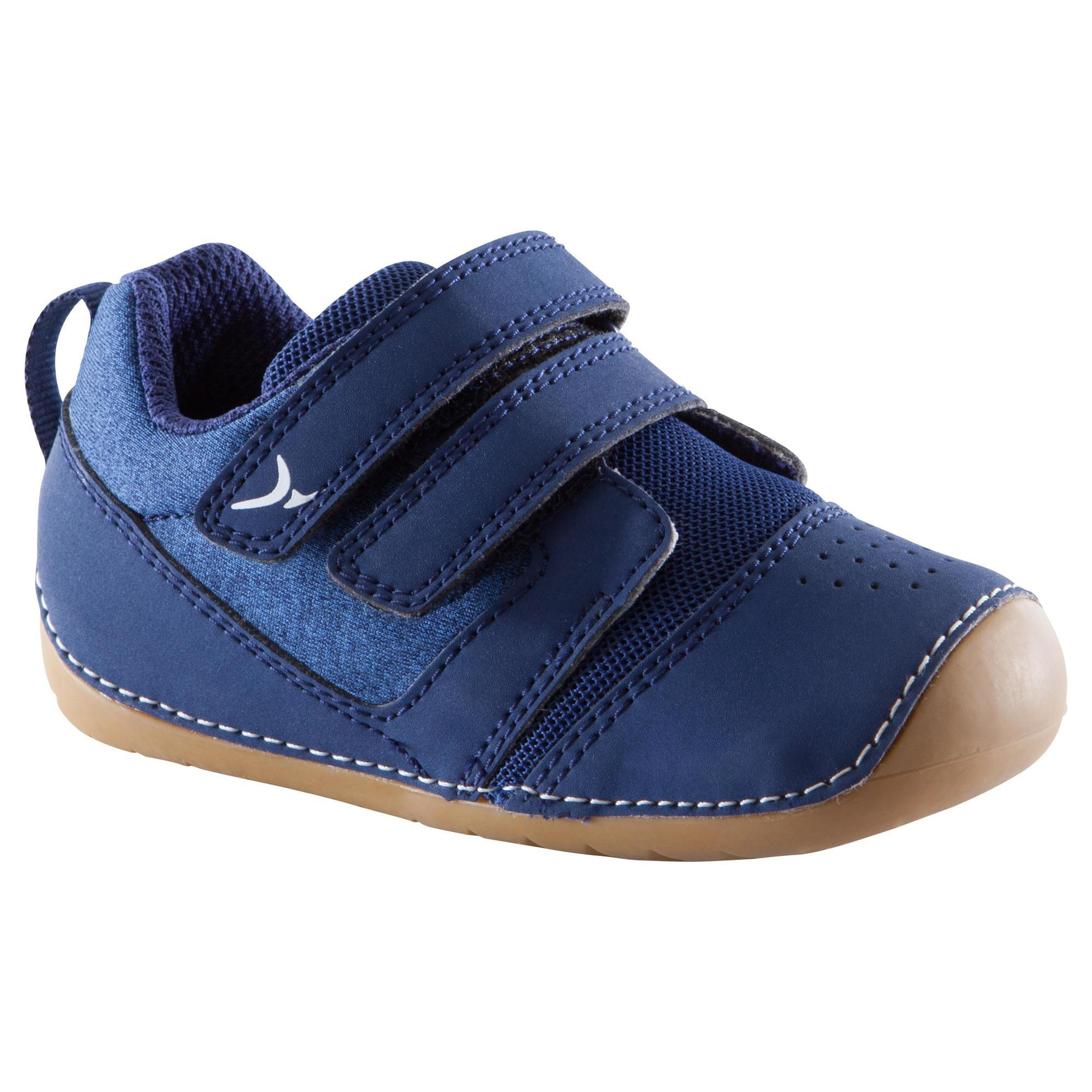 Baby,Kinder,Jungen,Kinder Turnschuhe 500 I Learn Gym Baby marineblau/braun | 03608419312393