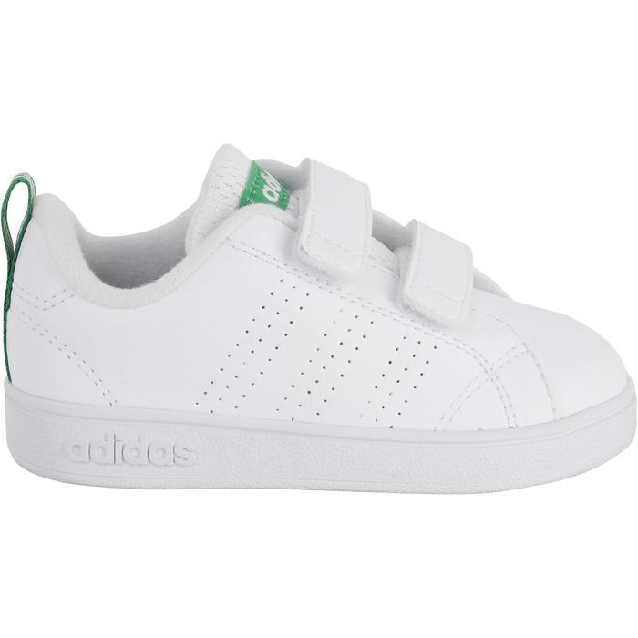 Chaussures bébé fille garçon blanc vert - 1067066