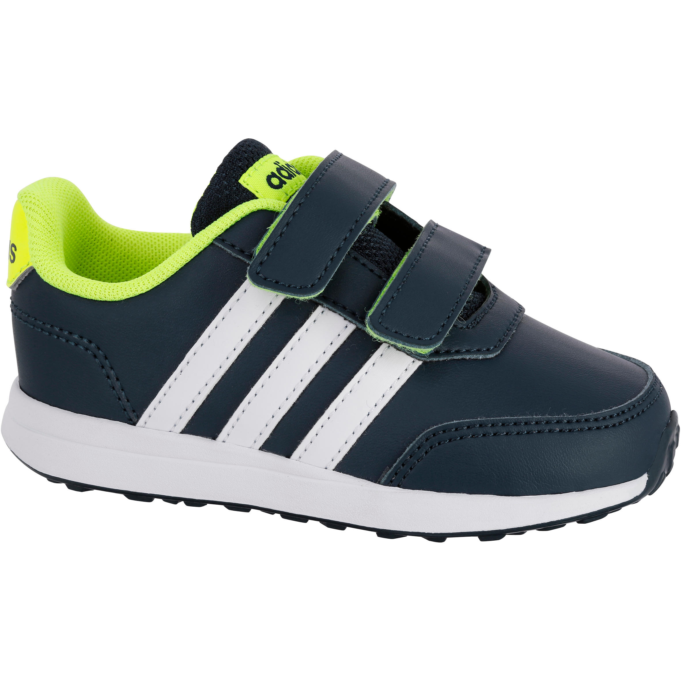 Adidas Gymschoentjes baby Adidas blauw wit geel