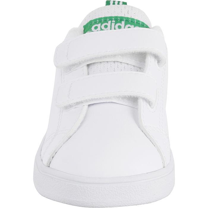 f5242229c Zapatillas Gimnasia Bebé Adidas Advantage Clean Bebé Blanco Adidas ...