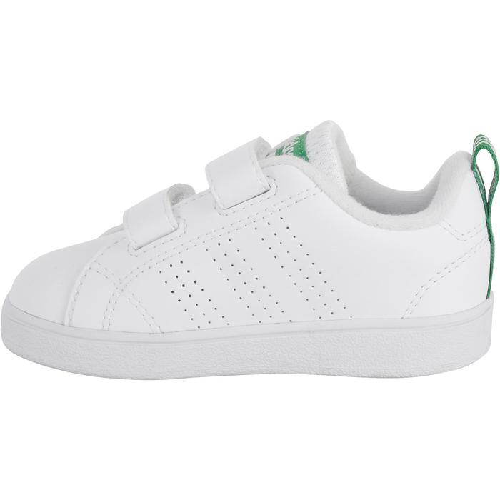 Chaussures bébé fille garçon blanc vert - 1067100
