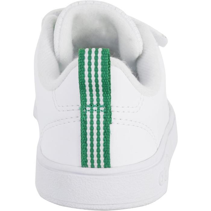 Babyschoentjes voor meisjes en jongens wit/groen