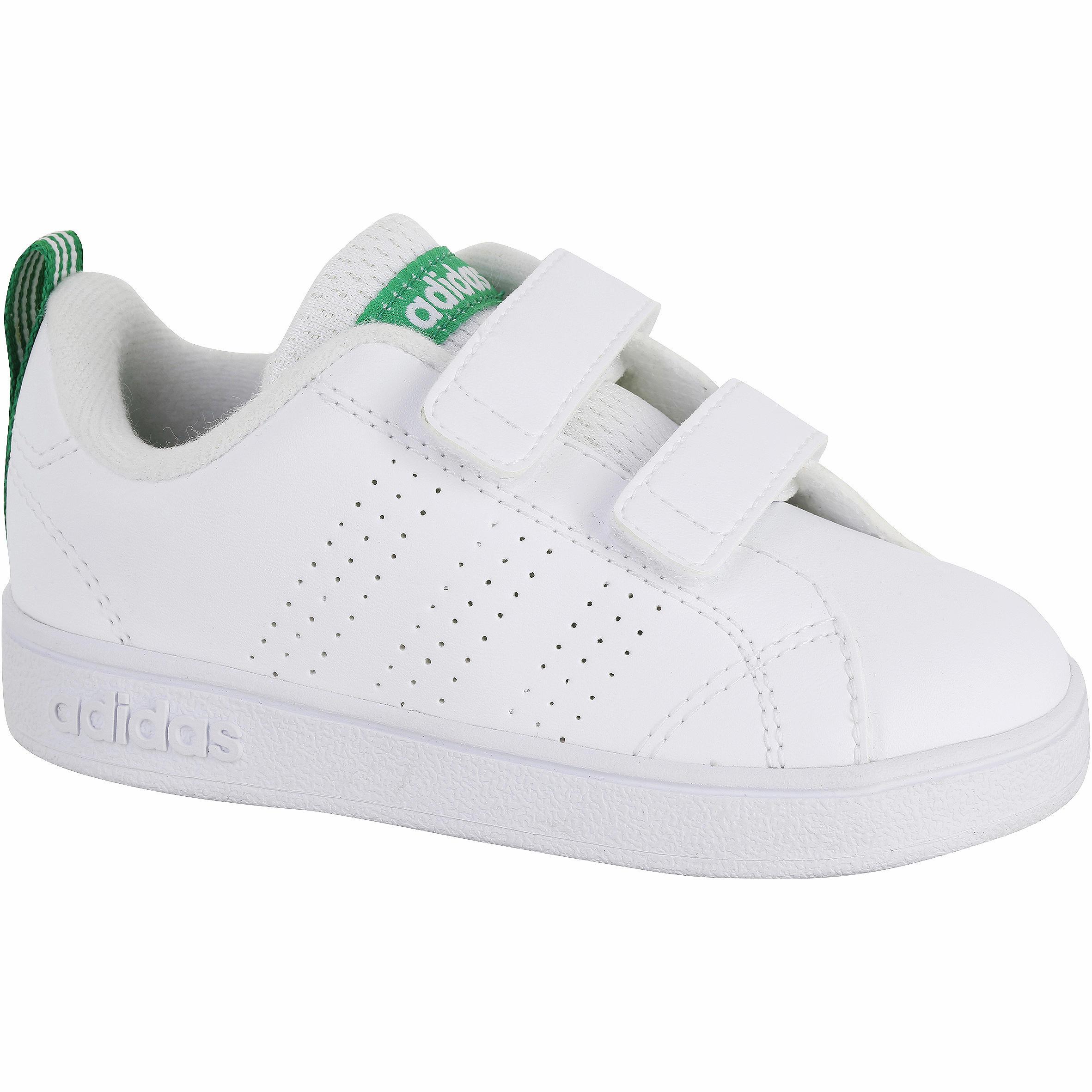 Adidas Babyschoentjes voor meisjes en jongens wit/groen