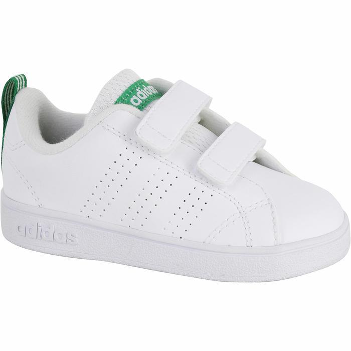 Chaussures bébé fille garçon blanc vert - 1067107