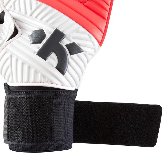 Keepershandschoenen F500 kinderen rood zwart
