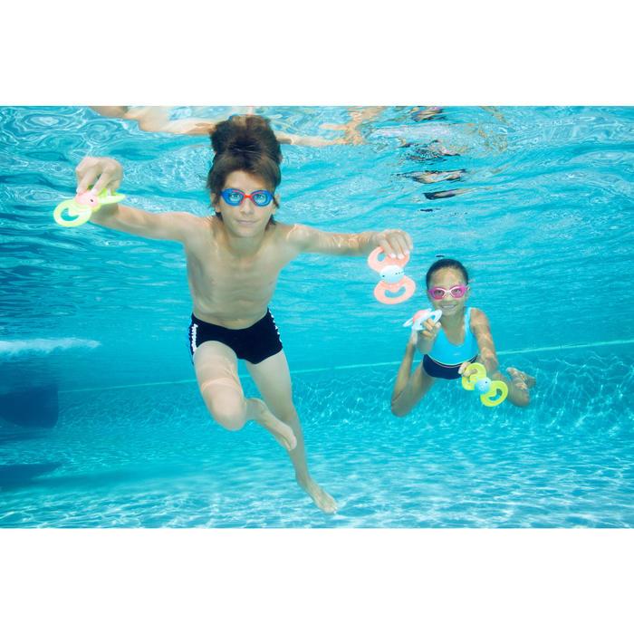 Zwemboxer voor jongens 100 Yoke - 1067190