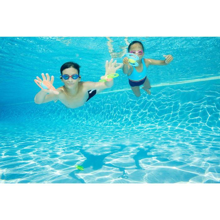 Gafas de natación XBASE Talla S rosa