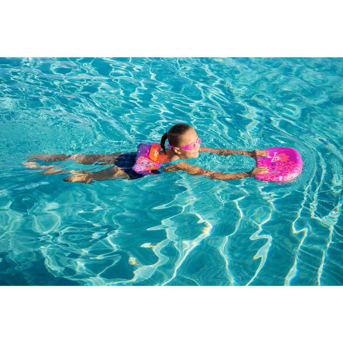 """Planche de natation enfant bleue avec imprimé """"SIRENE"""""""