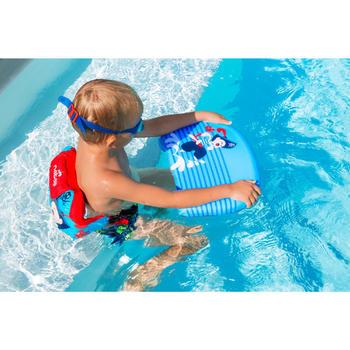 """Planche de natation enfant bleue avec imprimé """"PIRATE"""" - 1067239"""