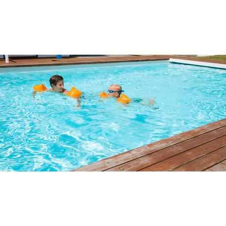 Brassards de natation junior orange nabaiji for Brassards piscine