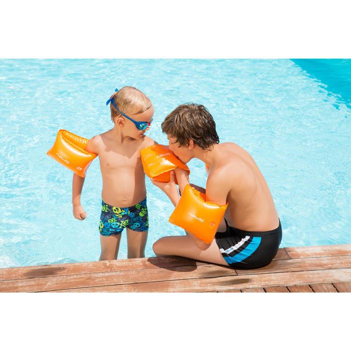 Zwembandjes kinderen 30-60 kg oranje