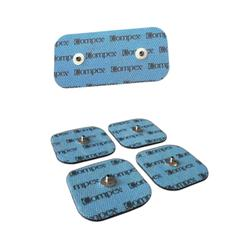 Electrodos Perf Snaps para musculación COMPEX cuadrados o rectangulares