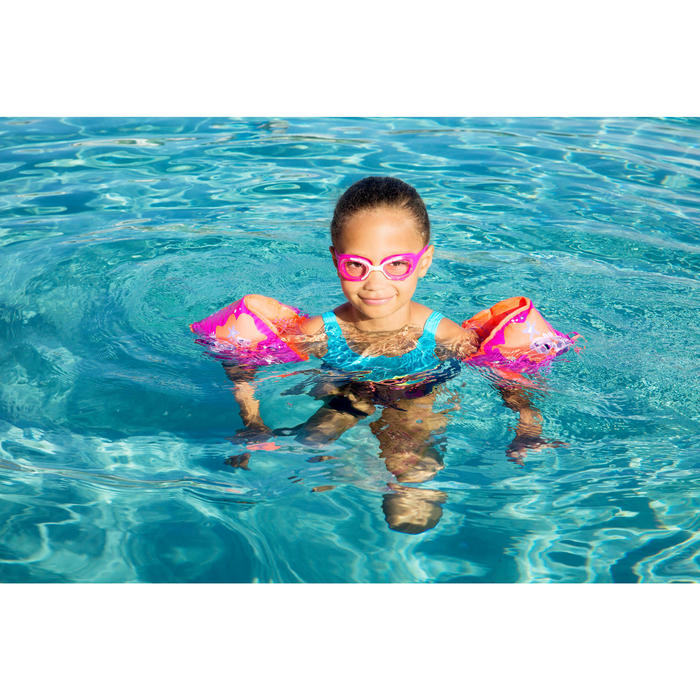 "Brassards natation bleus intérieur tissu ""SOFT"" imprimé ""PIRATE"" - 1067268"