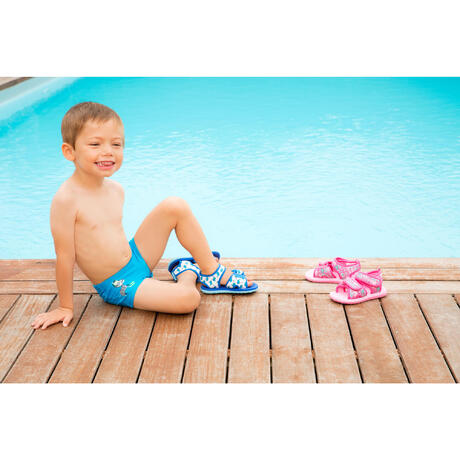 Picola Baby Pool Sandals Blue Nabaiji