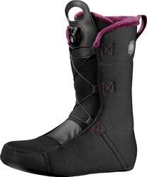 All mountain snowboardschoenen voor dames Pearl boa coiler zwart/paars - 1067326