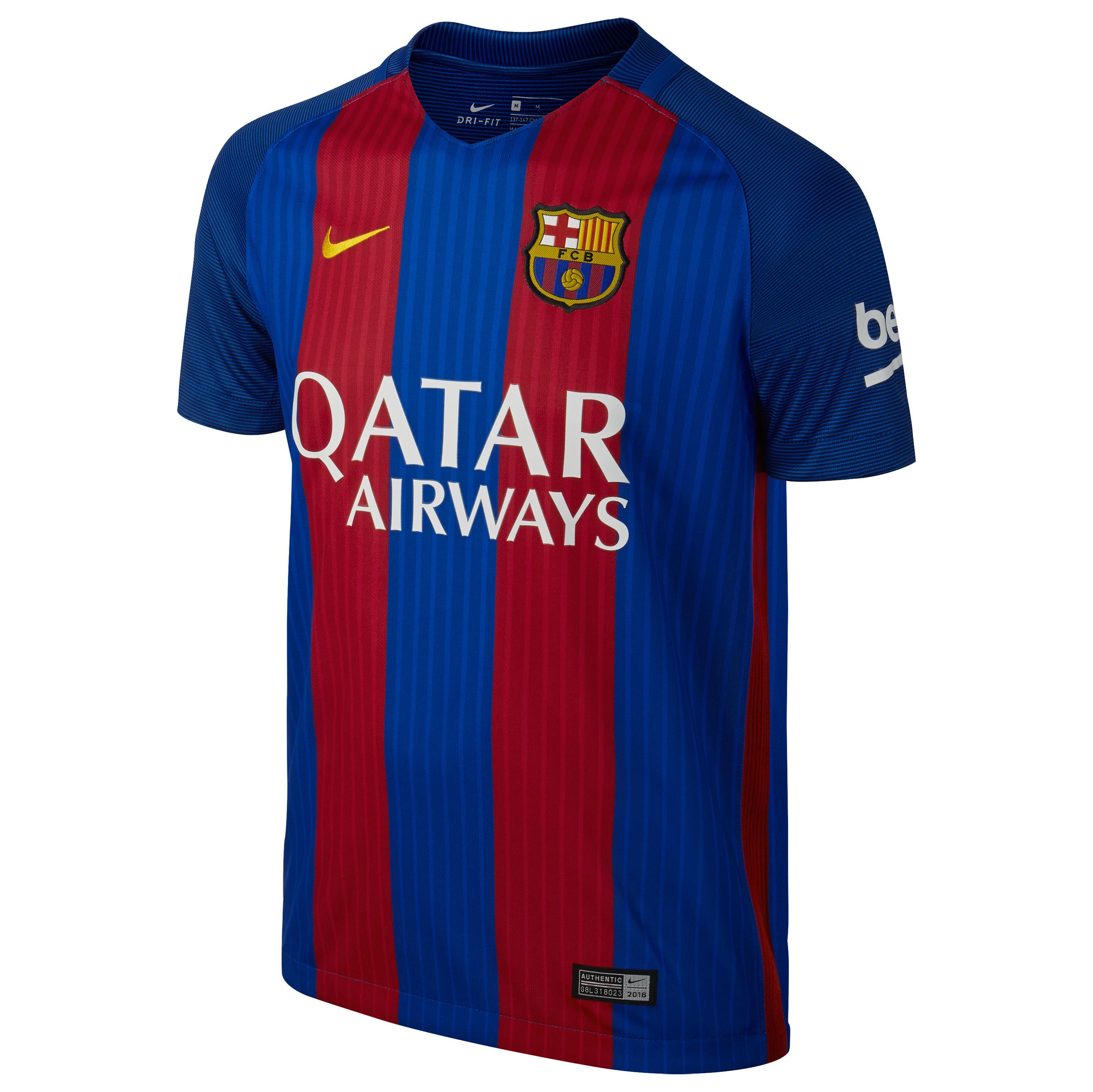 Nike Voetbalshirt Barcelona thuisshirt volwassenen blauw/rood