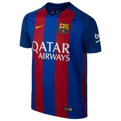 Voetbalshirt Barcelona thuisshirt volwassenen blauw/rood