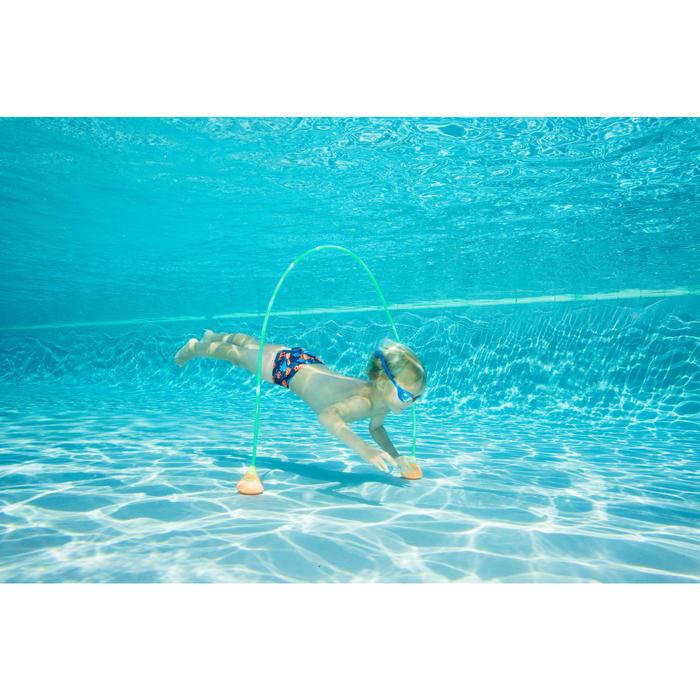 Lunettes de natation XBASE TailleS bleu rouge