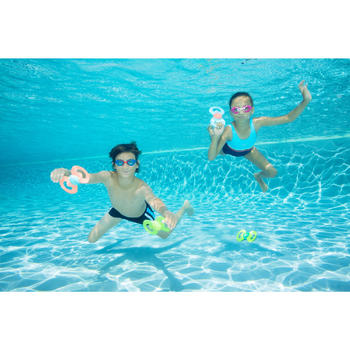 Zwemboxer voor jongens 100 Yoke - 1067428