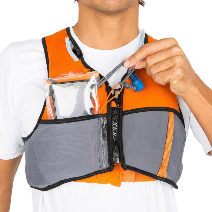 Zwemvest met waterzak Wairgo 50 N oranje