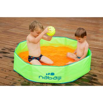 Opvouwbaar zwembadje Tidipool+ groen/oranje met draagtas