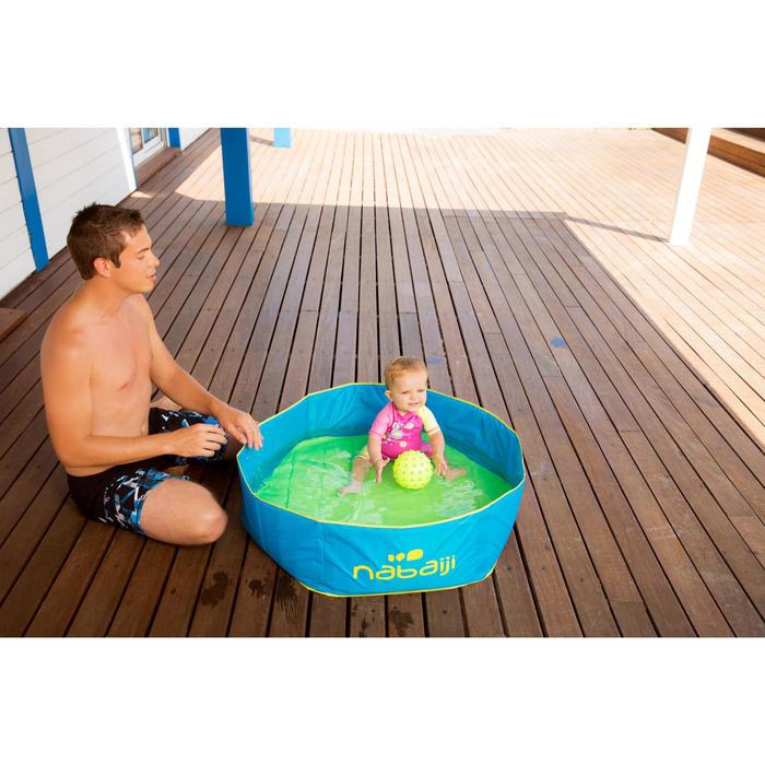 Petite piscine enfant autoportante TIDIPOOL bleue avec sac de transport étanche