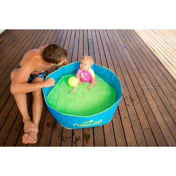 Zwembadje met waterdichte tas TIDIPOOL blauw