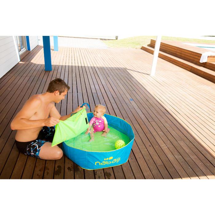 Petit ballon d'éveil aquatique FUNNY BALL rose avec picots violets - 1067449
