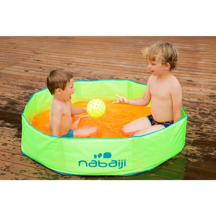 Zwembadje met waterdichte tas TIDIPOOL groen en oranje