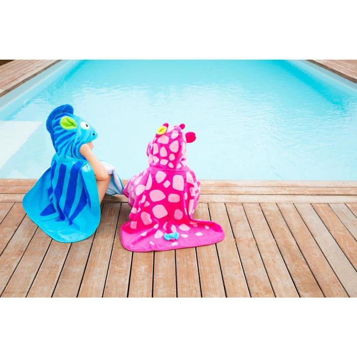 Poncho bébé avec capuche rose gigi - 1067457