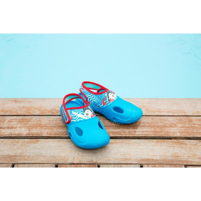 Bade-Clogs Ticlog Pirat Jungen blau