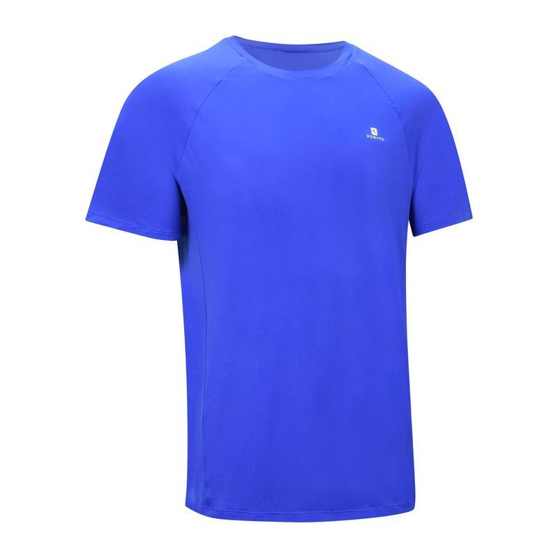 Camiseta leve masculina para fitness 100 Domyos  689d0ac59d5