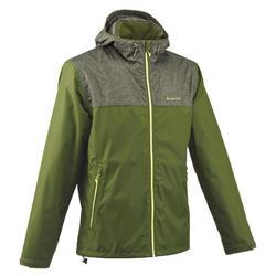 Veste imperméable randonnée nature homme NH100 vert feuille