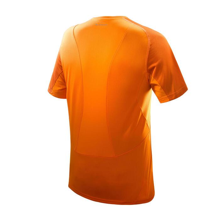 Tee Shirt Manches Courtes Randonnée Tech Fresh 100 homme Gris foncé - 1068203