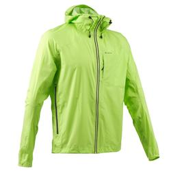 FH500 Helium Rain Men's Hiking Waterproof Jacket - Yellow-Green