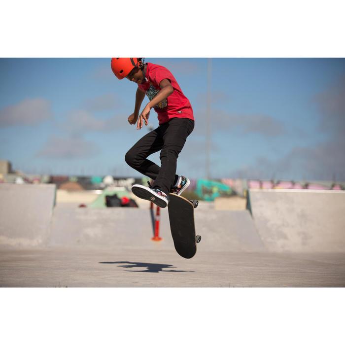 Skateboard MID500 Wolf grün