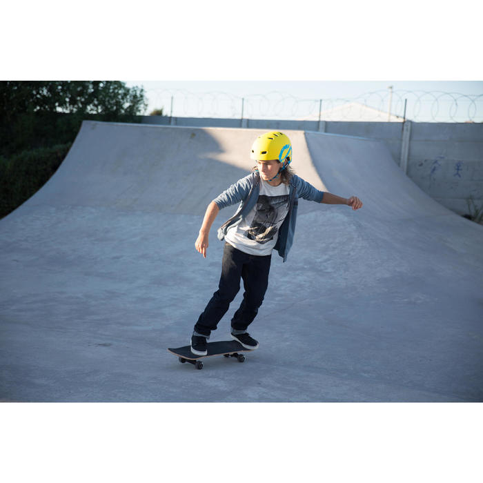 Skateboard MID100 Gamer Kinder 7 bis 10 Jahre