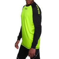 Maillot gardien soccer F300 jaune noir - Adulte