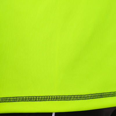 Maillot gardien football adulte F300 jaune noir