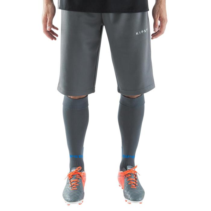 Pantalón largo por las rodillas entrenamiento de fútbol adulto T500 azul  marino 8ac7a940de571