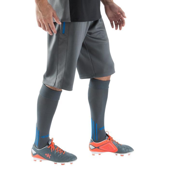Pantalón largo por las rodillas entrenamiento de fútbol adulto T500 azul  marino 99b4e5d0c74c0